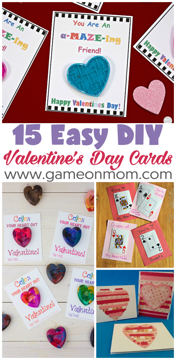 15 DIY Valentine's Day Cards