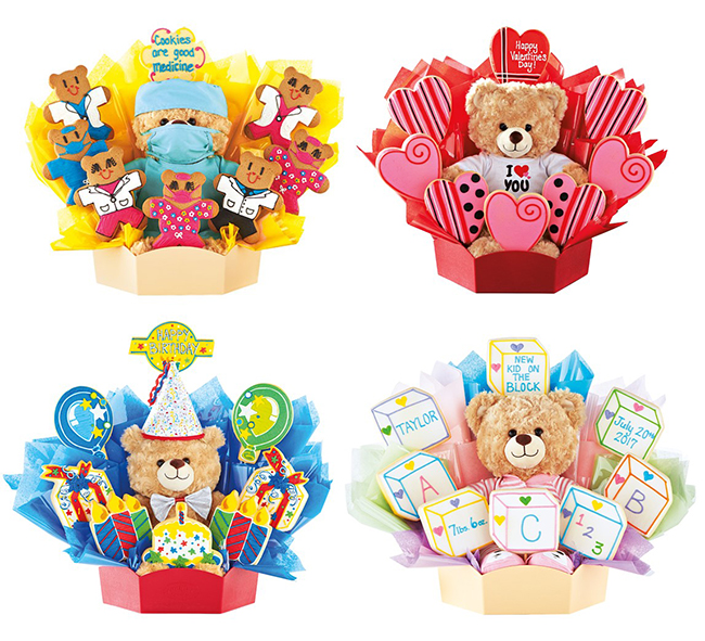 Build a Bear & Cookies by Design Gifts