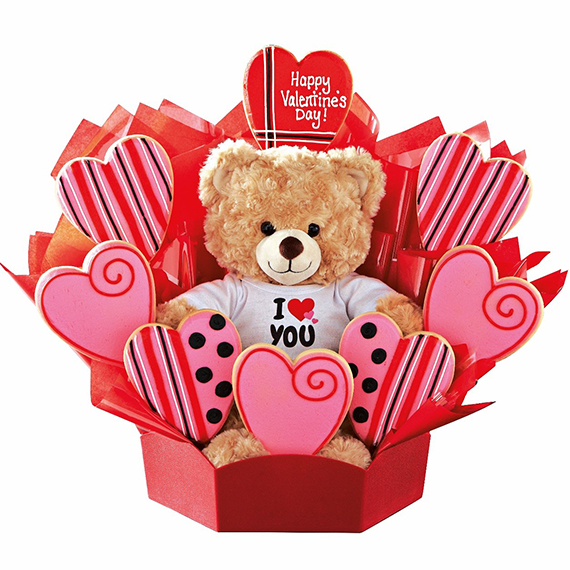 Valentine Gift Idea 2 Home Decor Frame Layout: Enter To Win TWO Build-a-Bear & Cookies By Design Baskets