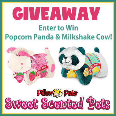 Sweet Scented Pillow Pets Giveaway