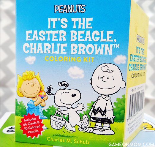 Easter Beagle Coloring Kit