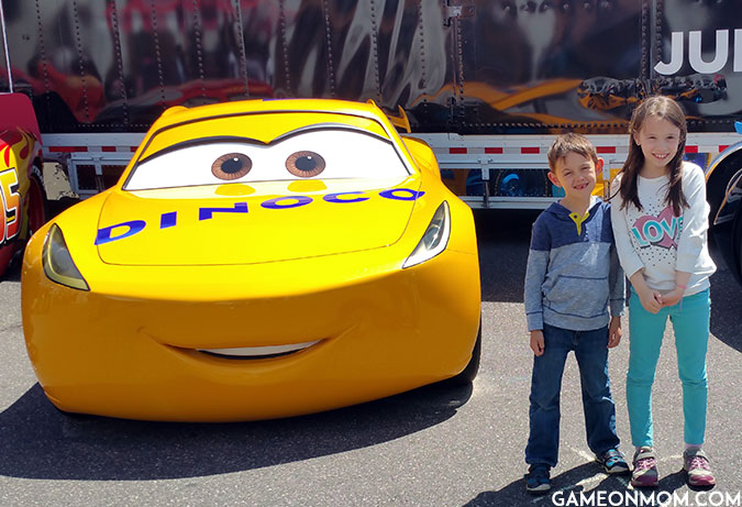 Cars 3 Road to the Races Life Size Cruz Ramirez