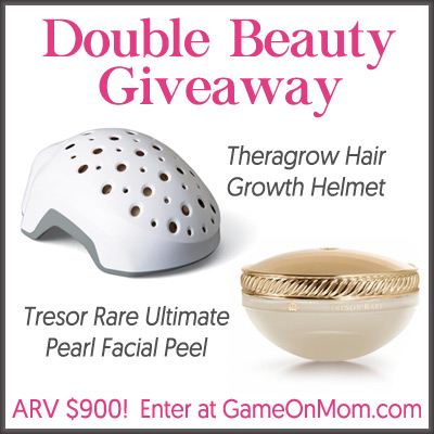 Double Beauty Giveaway for Theragrow and Tresor Rare
