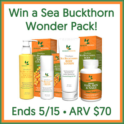 Sea Buckthorn Wonder Pack Giveaway