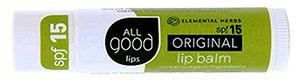 All Good Original Lip Balm SPF 15