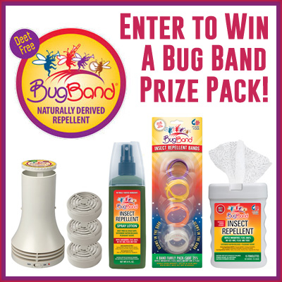 Bug Band Prize Pack Giveaway