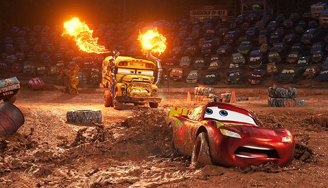 Cars 3 - Miss Fritter