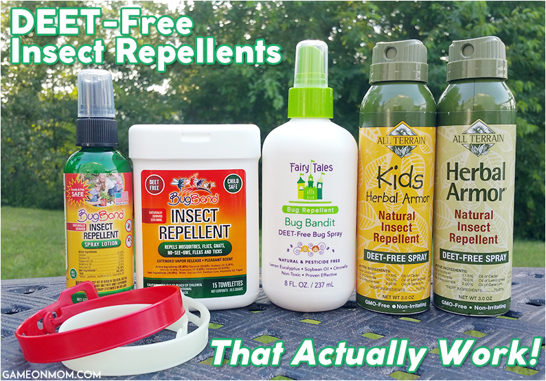 DEET-Free Insect Repellents That Actually Work
