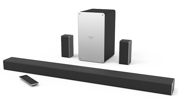 VIZIO SmartCast Wireless Sound Bar System SB3651-E6