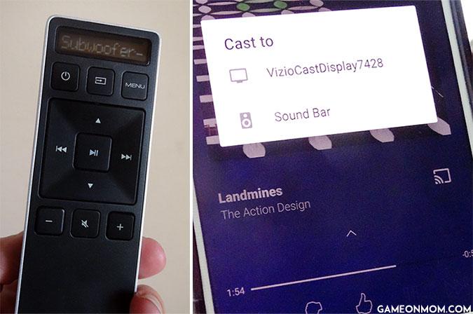 Vizio Wirless Sound Bar Remote