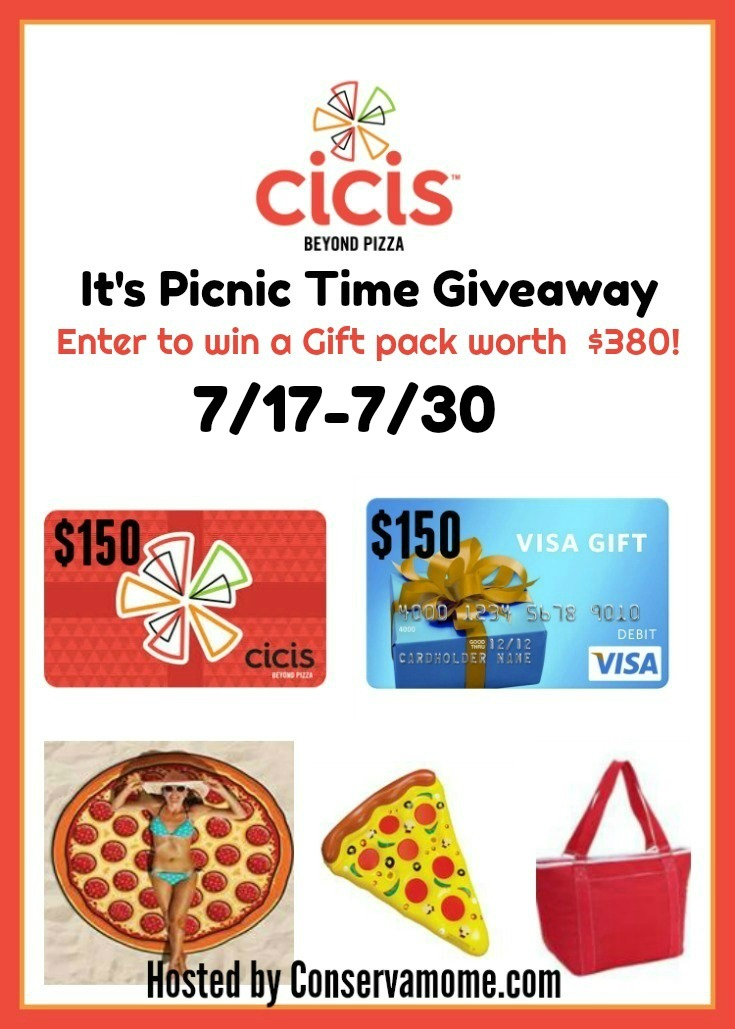 Cici's Picnic Fun Giveaway