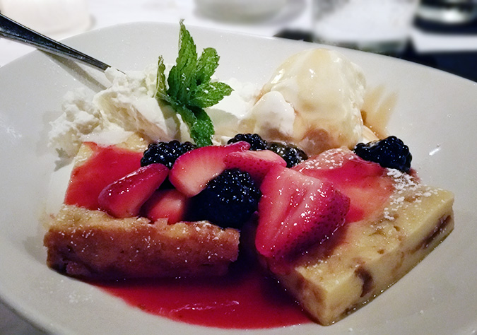 Bonefish Grill Summer Berry Bread Pudding