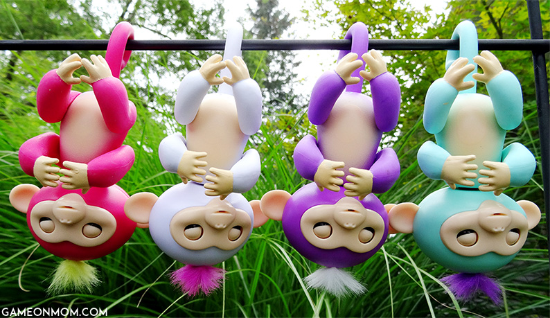 Fingerlings Hanging Upside Down