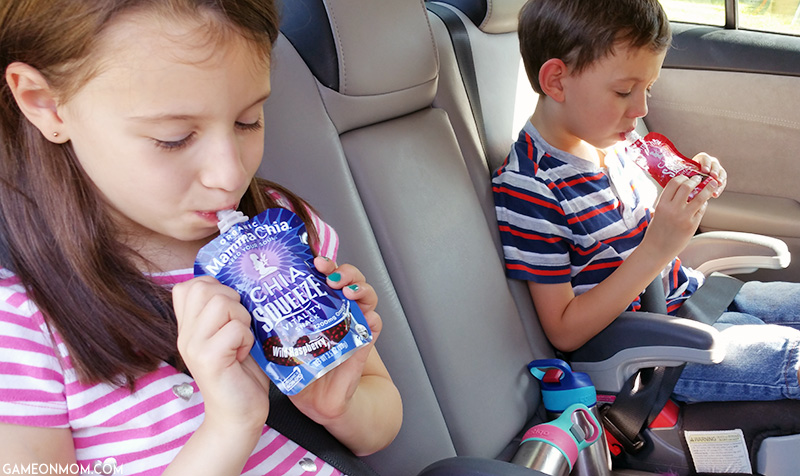 Mamma Chia Squeeze Pouches for a Healthy On-the-Go Snack