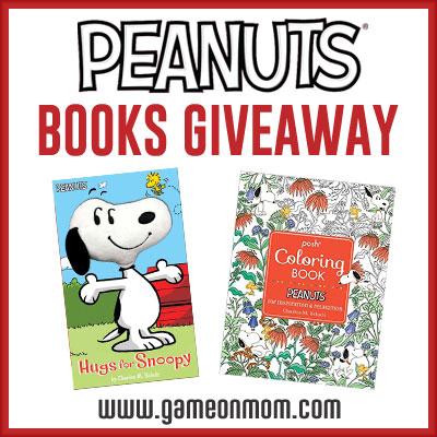 Peanuts Books Giveaway