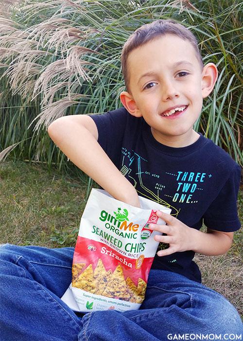 gimME Organic Seaweed Chips