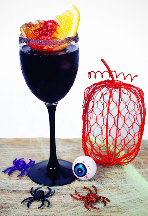 Halloween Cocktail - Vampire Sangria