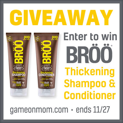 BROO Thicking Shampoo and Conditioner Giveaway