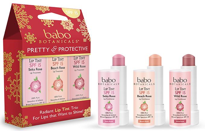 Babo Botanicals Radiant Lip Tint Trio