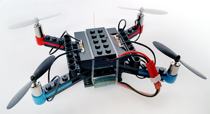 FlyBlocks: A DIY Drone Kit that You Can Build, Crash, and