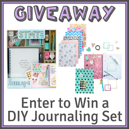 STMT DIY Journaling Set Giveaway