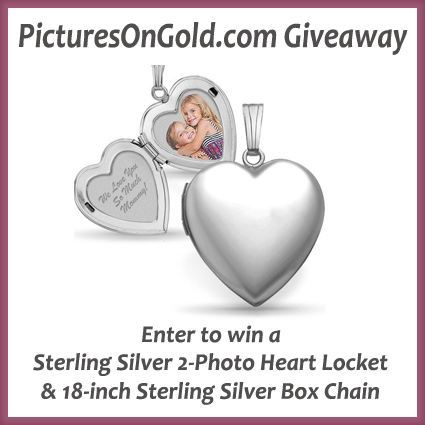Pictures On Gold Locket Giveaway