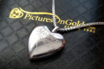 Pictures on Gold Heart Locket