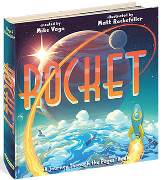 Rocket: A Journey Through Pages Book