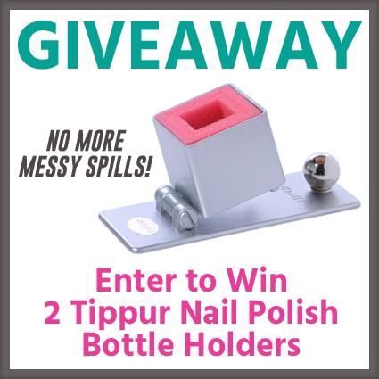 Tippur Nail Polish Holder Giveaway
