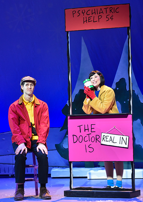 A Charlie Brown Christmas Live on Stage - Lucy & Charlie Brown