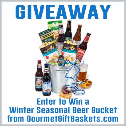 Gourmet Gift Baskets Winter Seasonal Beer Bucket Giveaway