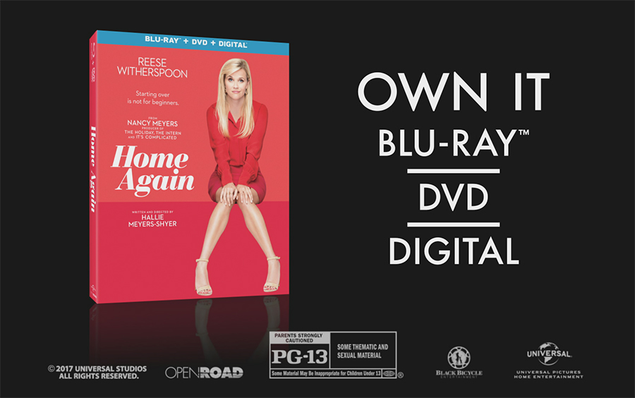 Home Again Starring Reese Witherspoon Is On Blu Ray Dvd Now