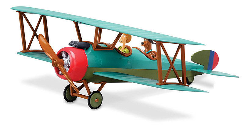 Scooby-Doo SnapTite Bi Plane