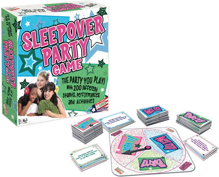 Sleepover Party Game