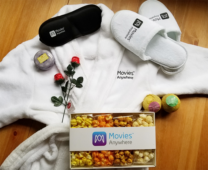 Movies Anywhere Mother's Day Movie Night Kit