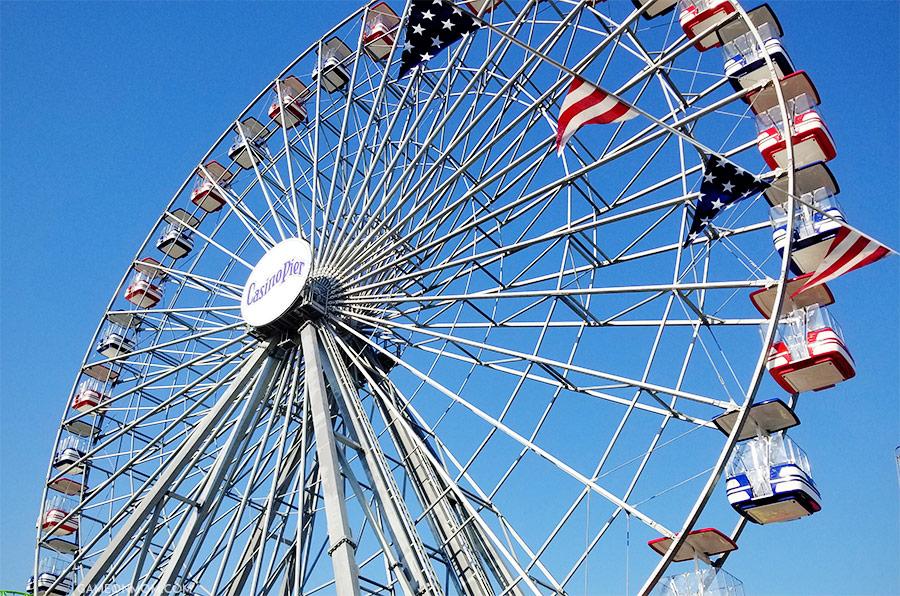 Casino Pier Ferris Wheel