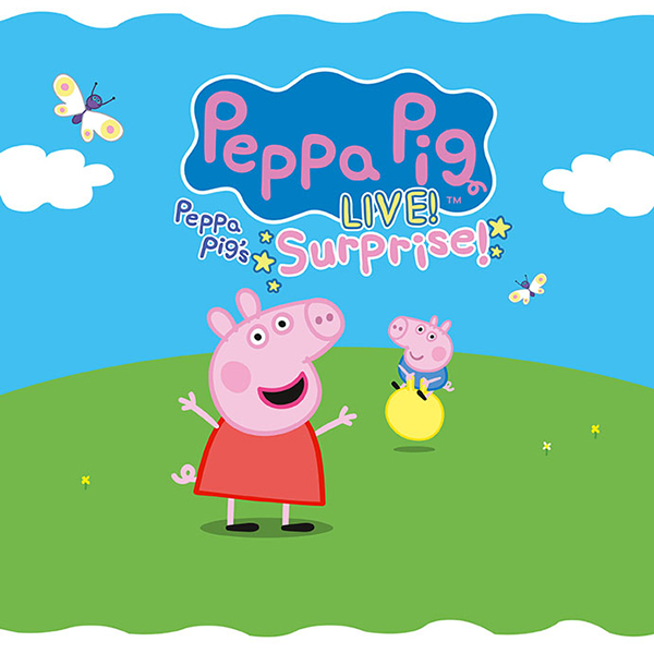 Peppa Pig LIVE! Surprise! Giveaway