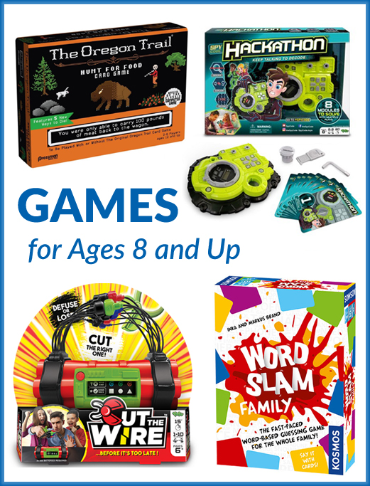 Holiday Gift Guide: Games for Ages 8 and Up