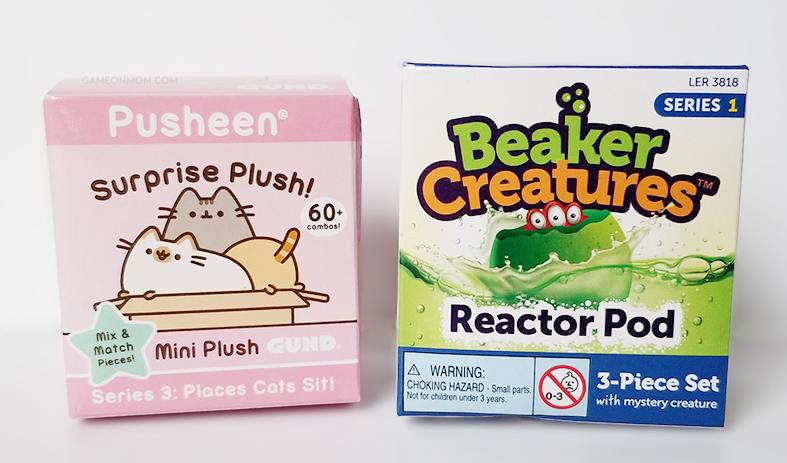 Pusheen and Beaker Creatures Giveaway
