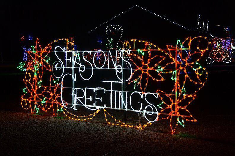 Christmas Light Show.Skylands Stadium Christmas Light Show And Village Giveaway