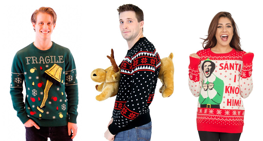 Ugly Christmas Sweater Giveaway Game On Mom