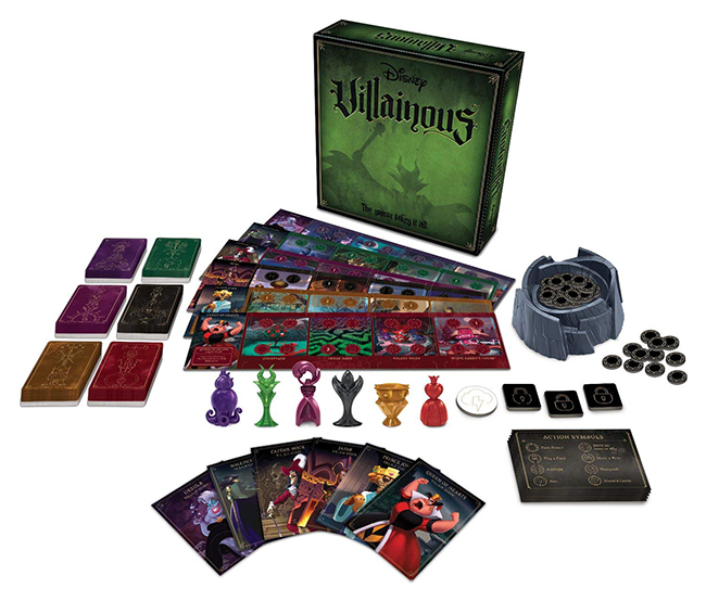 Villainous Board Game - The Fantasy Board Game Giveaway Bonanza From the Quest Kids Sweepstakes