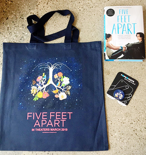 Five Feet Apart Coming To Theaters + Prize Pack Giveaway